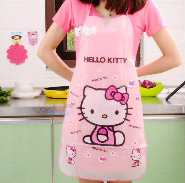 Hello Kitty Kitchen Aprons Waterproof/Anti-Oil Resistant