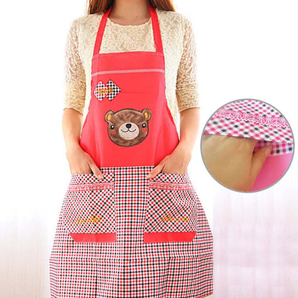 Cute Bear Lovers Cooking Aprons