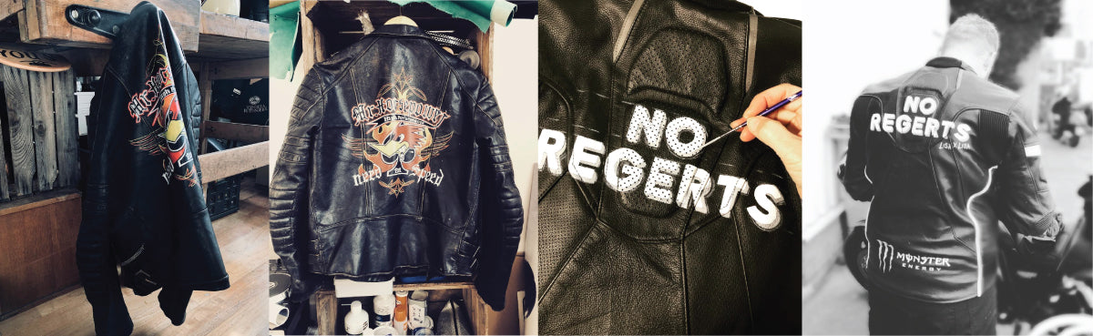 HANDPAINTED LEATHER JACKETS