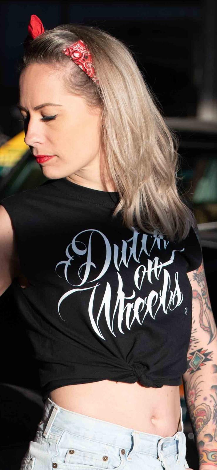 Dutch on Wheels Logo Tshirt,  UNISEX - Dutch on Wheels