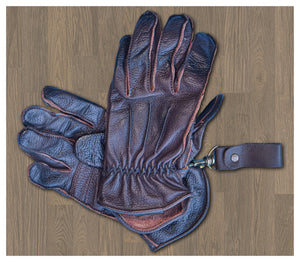 13 1/2 LOWLANDER GLOVES BROWN