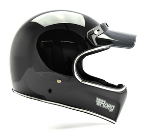 ROEG PERUNA HELMET BLACK GLOSS - Dutch on Wheels
