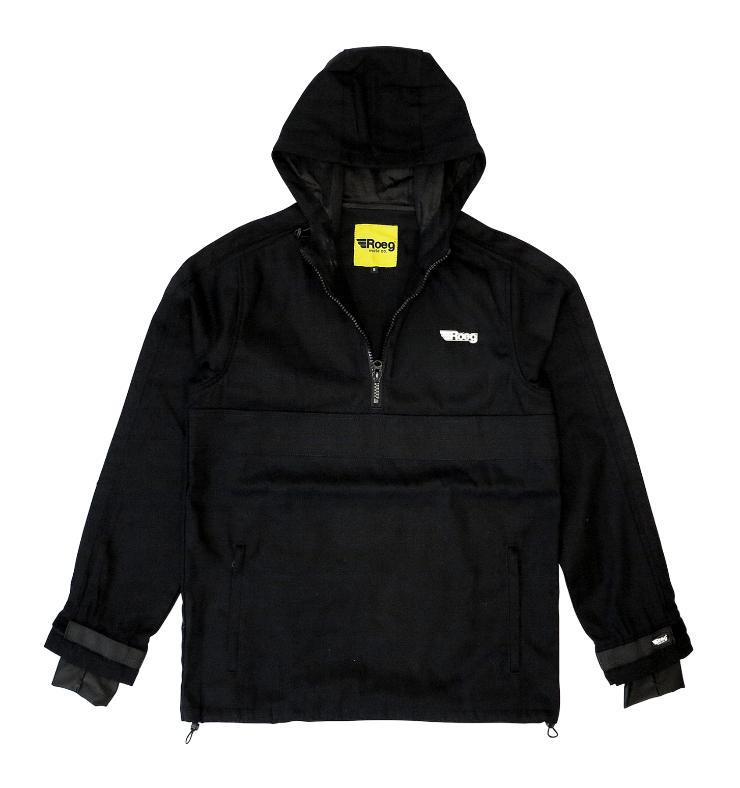 ROEG CASEY JACKET ALL BLACK - Dutch on Wheels