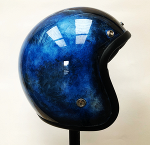 SLEEPING DRAGON - Custompainted open face helmet - Dutch on Wheels