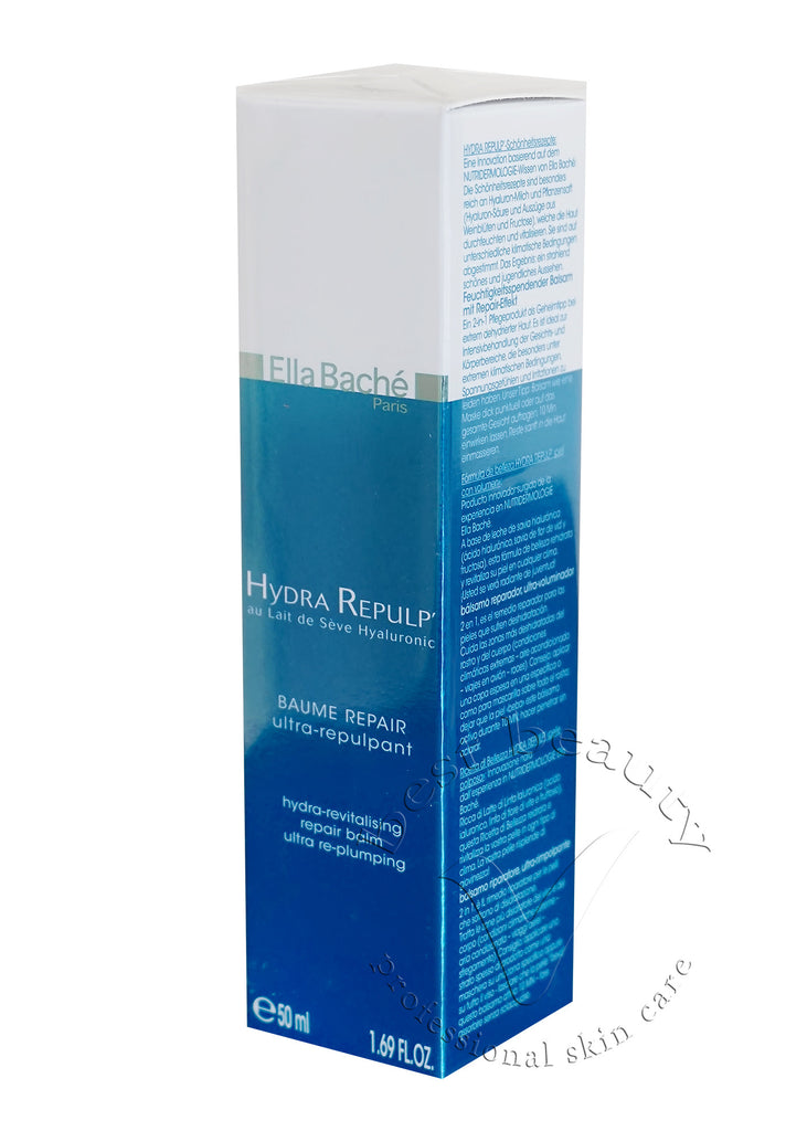 Ella Bache - Hydra Revitalizing Repair Balm Ultra Re-plump (Salon Size) -200ml/6.76oz Silicone Facial Cleansing Brush Waterproof Electric Ultrasonic Pores Clear Brush Device, Electric Face Brush, Exfoliating Face Brush