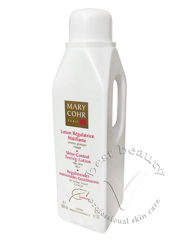 Mary Cohr Shine Control Toning Lotion - Lotion Regulatrice Matifiante 500ml (Salon size)