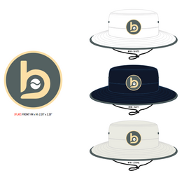 Bradley Baseball Bucket/Boonie hat (circle b logo)