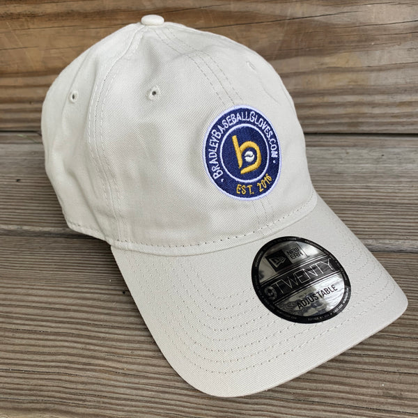 New Era 9Twenty Unstructured Adjustable Cap, Stone Est. 2016 Logo