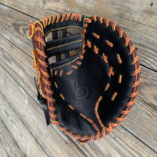 "12.25"" 1B Mitt, 6090 Series Black/Mocha, Native Kip LTD"