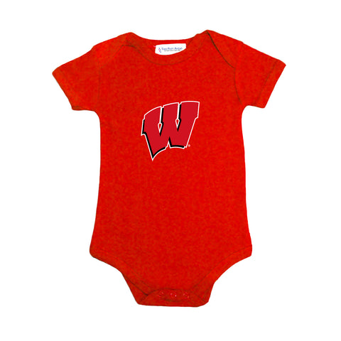 Two Feet Ahead -  - Wisconsin Infant Lap Shoulder Creeper Print (106L)