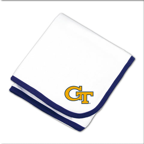 Two Feet Ahead - Georgia Tech - Georgia Tech Baby Blanket