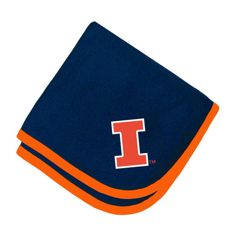 Two Feet Ahead - Illinois - Illinois Baby Blanket