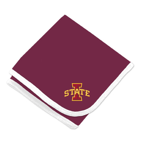 Two Feet Ahead - Iowa State - Iowa State Baby Blanket