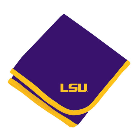 Two Feet Ahead - LSU - LSU Baby Blanket