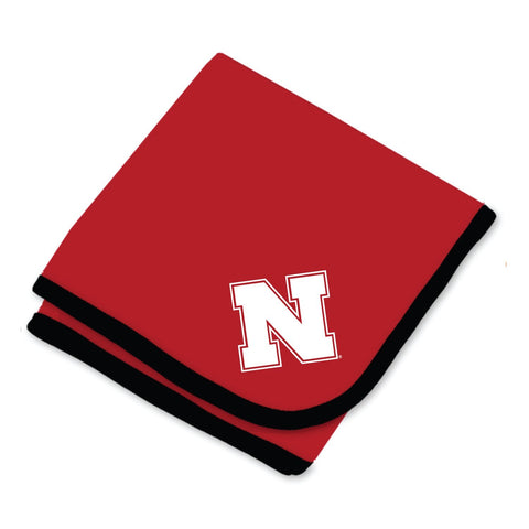 Two Feet Ahead - Nebraska - Nebraska Baby Blanket