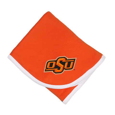 Two Feet Ahead - Oklahoma State - Oklahoma State Baby Blanket
