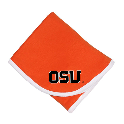 Two Feet Ahead - Oregon State - Oregon State Baby Blanket