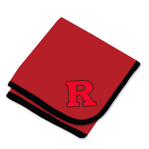 Two Feet Ahead - Rutgers - Rutgers Baby Blanket