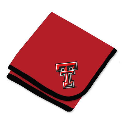 Two Feet Ahead - Texas Tech - Texas Tech Baby Blanket