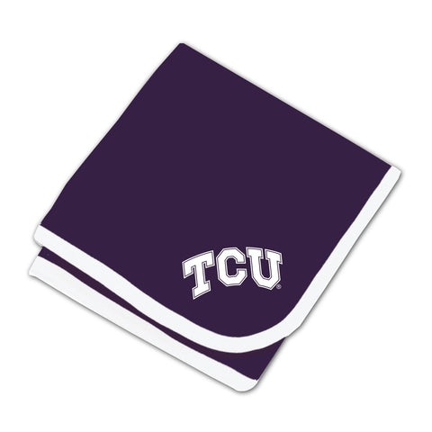 Two Feet Ahead - Texas Christian University - Texas Christian University Baby Blanket