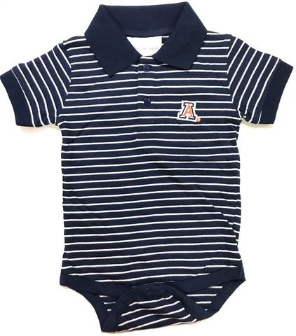 Two Feet Ahead - Arizona - Arizona Jersey Stripe Golf Creeper