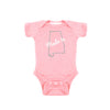 Two Feet Ahead - Infant Clothing - Made In Alabama Girl's Creeper