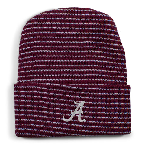 Two Feet Ahead - Alabama - Alabama Stripe Knit Cap