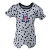 Two Feet Ahead - Arizona - Arizona Polka Dot Girl's Romper