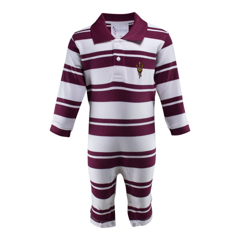 Two Feet Ahead - Arizona State - Arizona State Rugby Long Leg Romper