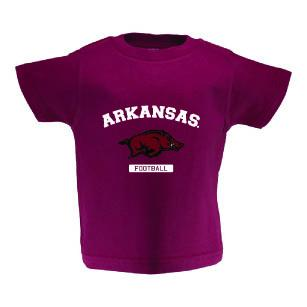 Two Feet Ahead - Arkansas - Arkansas Toddler Short Sleeve T Shirt Print