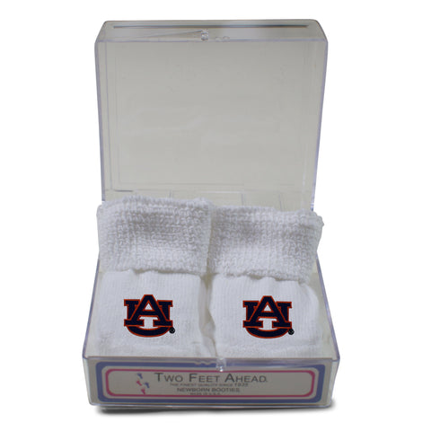 Two Feet Ahead - Auburn - Auburn Gift Box Bootie