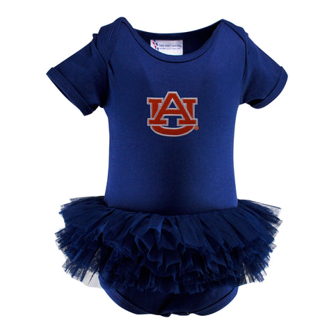 Two Feet Ahead - Auburn - Auburn Solid Tutu