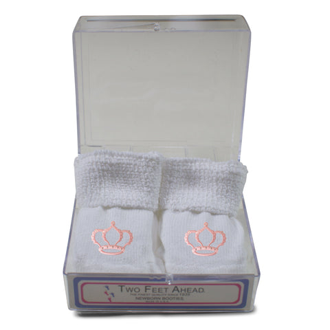 Two Feet Ahead - Socks - Newborn Princess Gift Box Bootie (555)