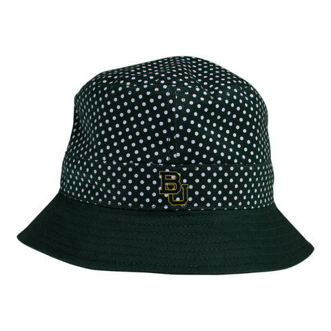Two Feet Ahead - Baylor - Baylor Pin Dot Bucket Hat