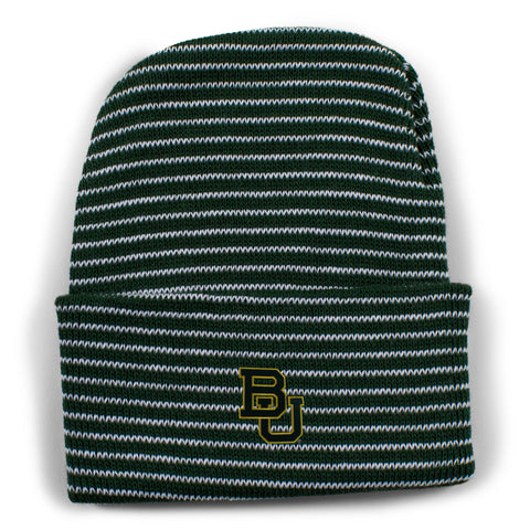Two Feet Ahead - Baylor - Baylor Stripe Knit Cap