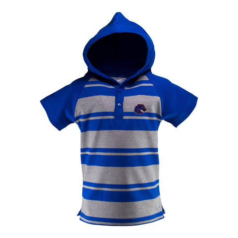 Two Feet Ahead - Boise State - Boise State Hooded T-Romper