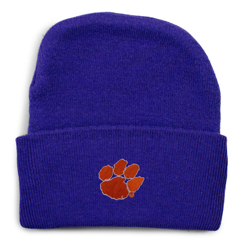 Two Feet Ahead - Clemson - Clemson Knit Cap