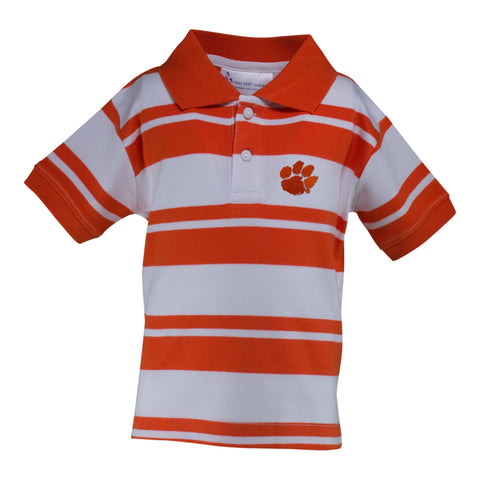 Two Feet Ahead - Clemson - Clemson Rugby Golf Shirt