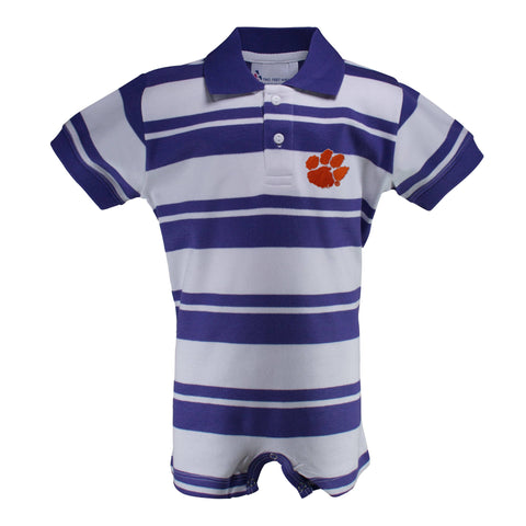 Two Feet Ahead - Clemson - Clemson Rugby T-Romper