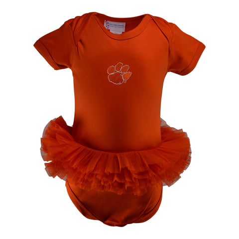 Two Feet Ahead - Clemson - Clemson Tutu Creeper