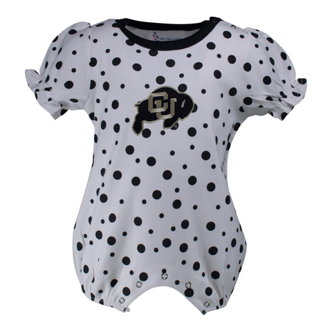 Two Feet Ahead - Colorado - Colorado Polka Dot Girl's Romper
