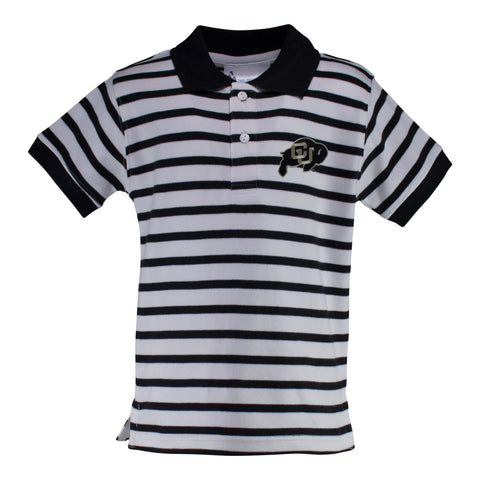 Colorado Stripe Golf Shirt