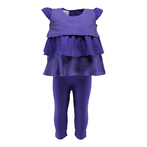 Two Feet Ahead - Infant Clothing - Girl's Ruffle Pant Set