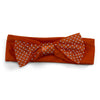 Two Feet Ahead - Clemson - Clemson Girl's Pin Dot Headband