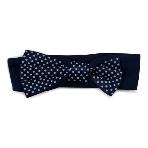 Two Feet Ahead - Notre Dame - Notre Dame Girl's Pin Dot Headband