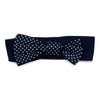 Two Feet Ahead - Auburn - Auburn Girl's Pin Dot Headband
