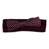 Two Feet Ahead - Mississippi State - Mississippi State Girl's Pin Dot Headband