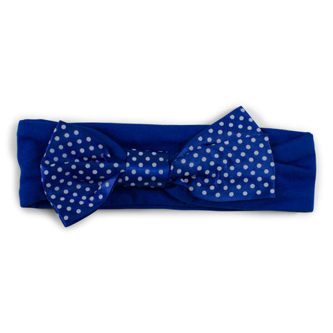 Two Feet Ahead - Kansas - Kansas Girl's Pin Dot Headband