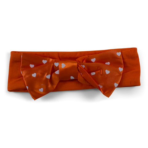 Two Feet Ahead - Boise State - Boise State Girl's Heart Headband