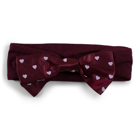 Two Feet Ahead - Mississippi State - Mississippi State Girl's Heart Headband